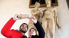 Un autoscatto col David anche a Firenze è #museumselfie