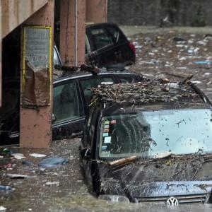 Alluvione Carrara, occupanti sgomberati dopo 3 mesi