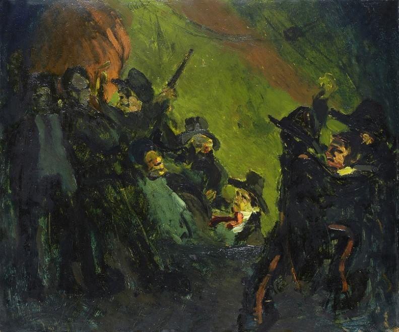 La grande guerra in mostra a Viareggio nei quadri di Lorenzo Viani