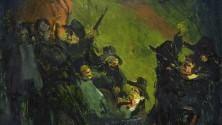 La grande guerra  in mostra a Viareggio  nei quadri di Viani