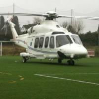 Arezzo, l'elicottero di Renzi costretto ad atterraggio di emergenza