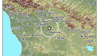 Terremoti, serie di scosse nel Chianti, magnitudo massima 3,7. Non ci sono feriti