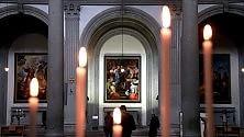 """Restaurato """"Lo sposalizio della Vergine"""" di Rosso Fiorentino"""