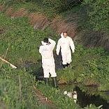 Trovato cadavere alle Piagge chiuso in sacco di plastica /    foto
