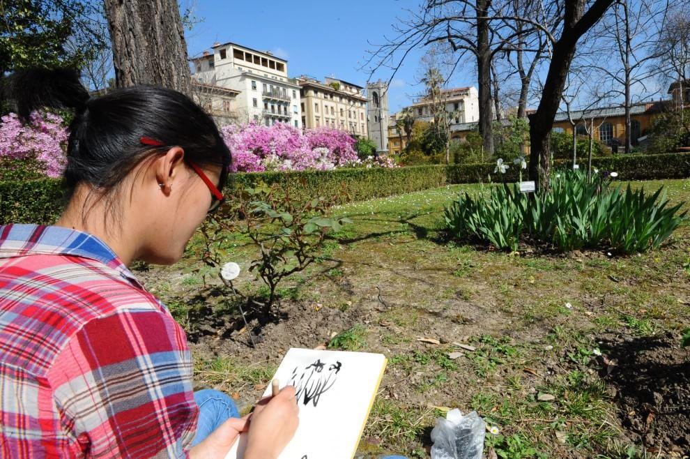 Fiori e nuovi alberi riapre il giardino dei semplici 1 - Il giardino dei semplici ...