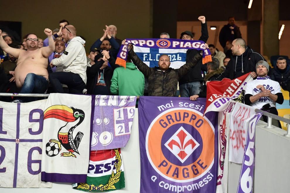 Fiorentina, i tifosi viola a Kiev - 1 di 1 - Firenze ...