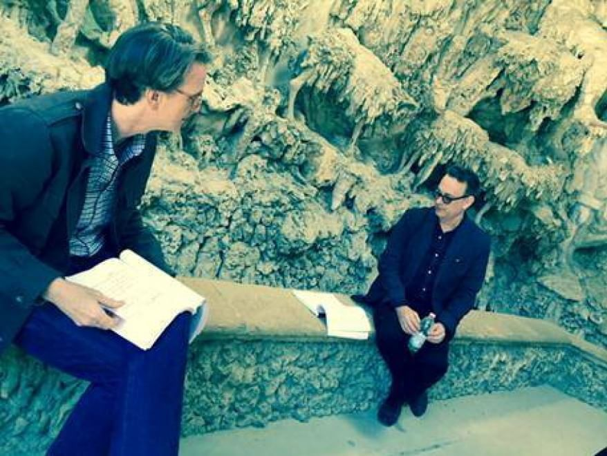 Ron Howard e la foto con Tom Hanks al giardino di Boboli