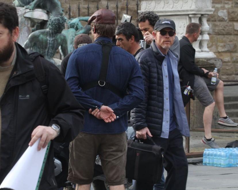 """""""Inferno"""", i ciak di Ron Howard a Firenze. Il sindaco Nardella fa la comparsa"""