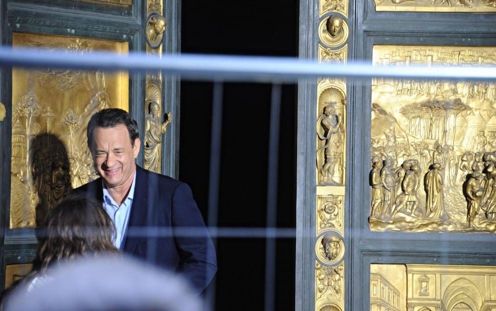 Inferno, riprese con Tom Hanks al Battistero