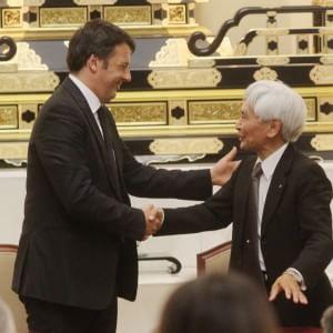 La Soka Gakkai entra nell'8x1000, Renzi a Firenze firma l'intesa con l'istituto buddista