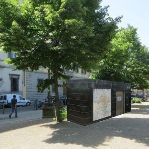 i nuovi bagni pubblici hi tech nelle piazze di firenze
