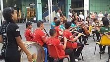I ragazzi delle favelas  in concerto a San Donato