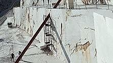 """Cave di marmo, """"Illusione"""" di Timossi 'buca' la montagna"""