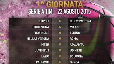 Serie A, per i viola subito un big match Fiorentina-Milan alla prima giornata