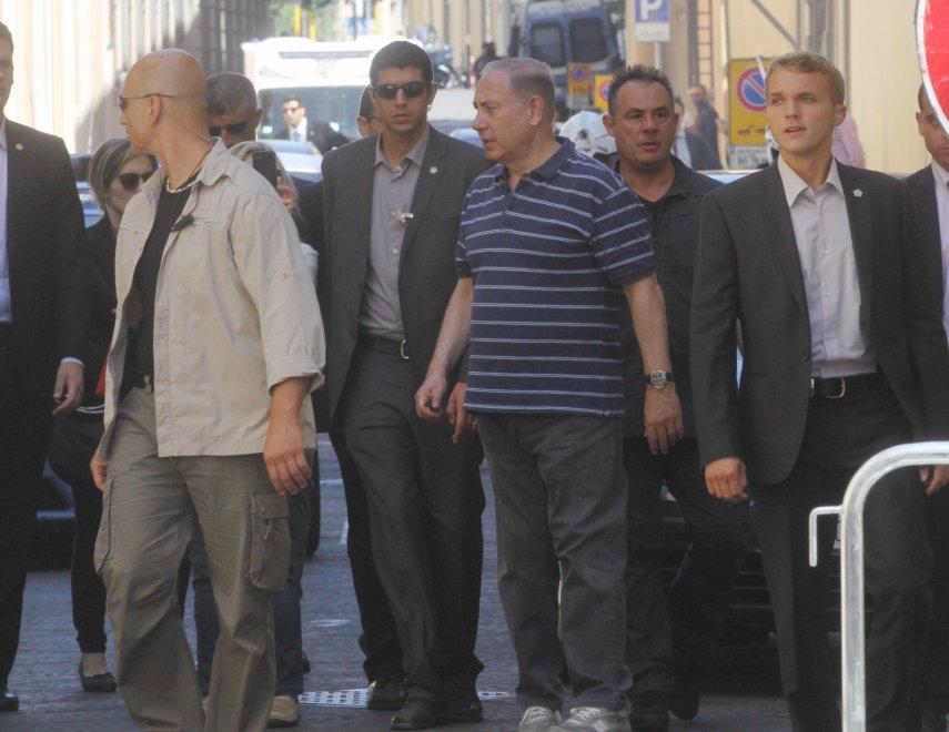 Firenze, Netanyahu passeggiata fino alla Sinagoga
