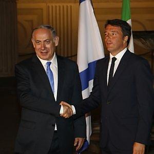 """Renzi: """"Italia al fianco di Israele contro il terrorismo"""""""