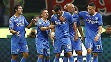 Fa soffrire il Milan,  poi l'Empoli cede: 2-1