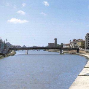 Precipita dalla spalletta dell'Arno, grave studente