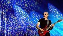 Videoagenda: la chitarra di Joe Satriani all'Obihall