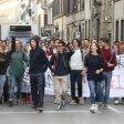 """Contro la """"Buona scuola""""  500 in corteo a Firenze   / Foto"""