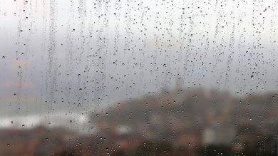 Weekend di pioggia e vento