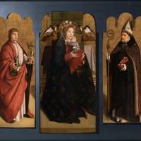 Il trittico ricongiunto di Antonello da Messina è agli Uffizi