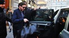 A Firenze l'attore  Richard Madden- Foto