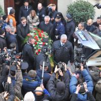 I funerali di Licio Gelli nella Chiesa della Misericordia di Pistoia
