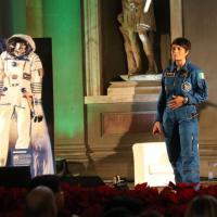Firenze, AstroSamantha incontra gli studenti: