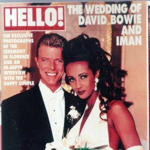 Il matrimonio di David Bowie con Iman, in una piccola chiesa di Firenze