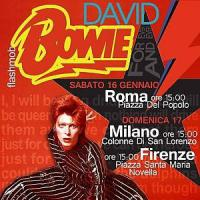 Un flash mob per Bowie in Santa