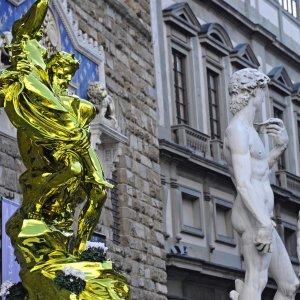 Addio Firenze, Koons si riprende la sua scultura