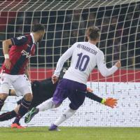 Fiorentina, il gol di Bernardeschi