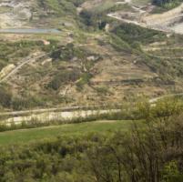 Attivisti di Greenpeace nudi sul Monte Morello