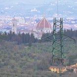 Firenze, via 17 tralicci Terna liberati i colli intorno alla città