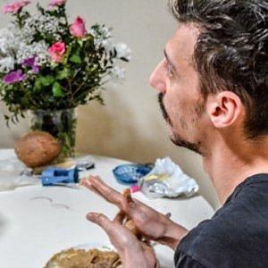 Breakfast on tour, colazione da Pedro attore brasiliano