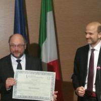 Firenze, il presidente dell'Europarlamento