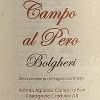 Campo al Pero, la strada di Bolgheri non è la tradizione