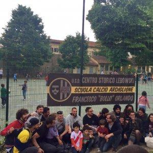 Firenze, la scuola calcio del Lebowski nel giardino dei Nidiaci