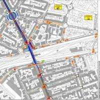 Firenze, i cantieri della tramvia nel sottopasso di Statuto: cambia la viabilità