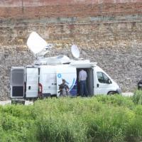 Firenze, un radar controlla gli spostamenti della spalletta sull'Arno