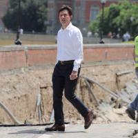 """Il sindaco Nardella: """"Voragine a Firenze, chi ha sbagliato pagherà"""""""