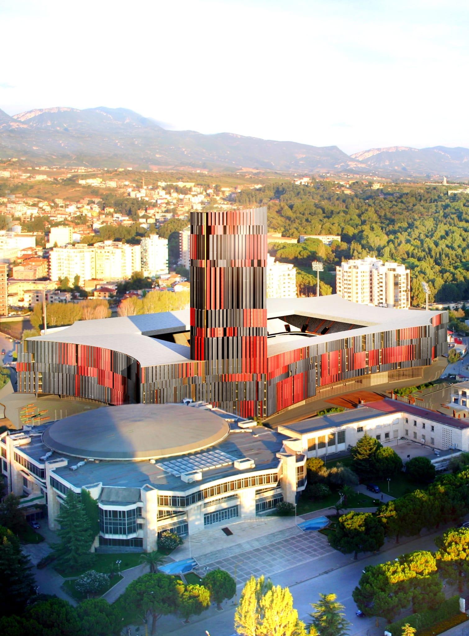 Casamonti, un architetto fiorentino per lo stadio di Tirana
