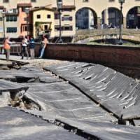 Firenze, il muro spanciato non sarà demolito
