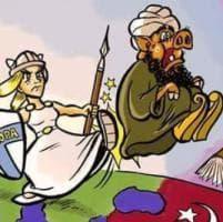 Cascina, la sindaca leghista posta una vignetta con Europa che 'espelle'