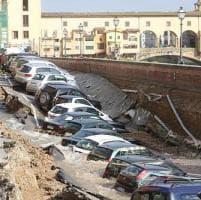 Firenze, chiuso da lunedì il passaggio pedonale del Lungarno Torrigiani