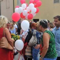 Lucca, l'addio della città a Vania Vannucchi