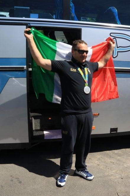 Montemurlo festeggia Marco Innocenti, argento olimpico nel double trap
