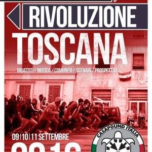 """Da tutta Italia a Chianciano per il raduno di CasaPound, proteste sul web: """"Mai più in vacanza lì"""""""