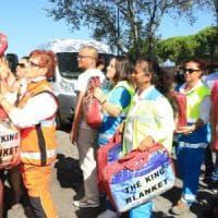 Firenze, la comunità cinese si mobilita per il terremoto: 4 furgoni pronti
